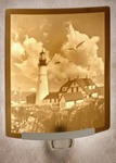 Portland Head Lighthouse Lithophane Night Light