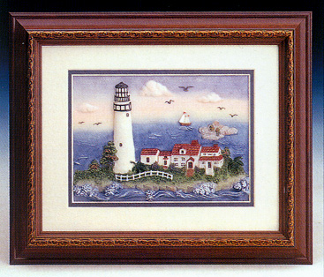 Lighthouse Framed Art